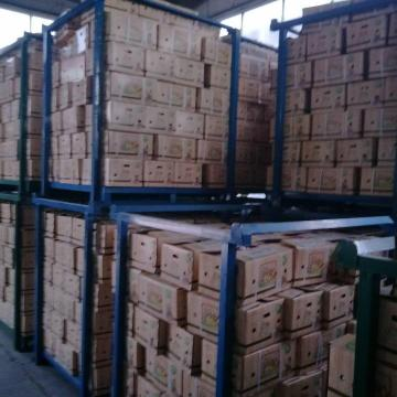China 5.5-6.0 cm normal white garlic export to Brazil